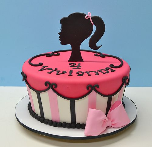 Barbie Cake for birthdays parties for girls