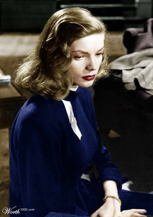 Lauren Bacall had that intangible something.