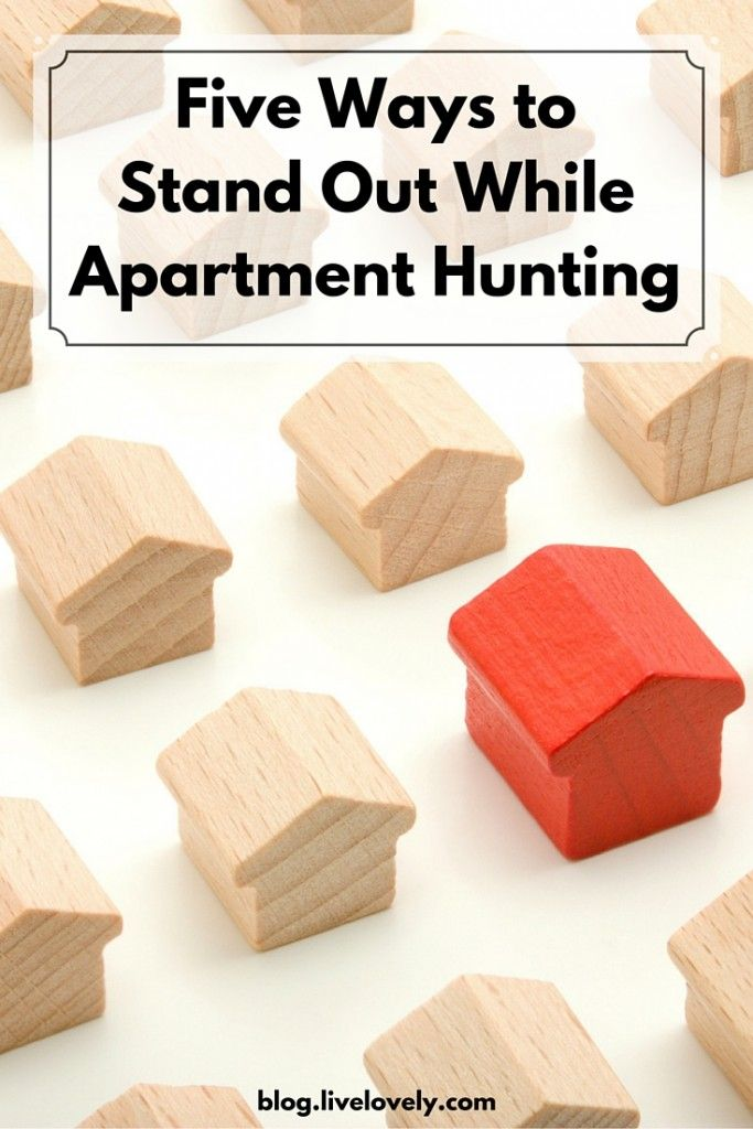 5 Ways To Stand Out While Apartment Hunting Apartment Hunting
