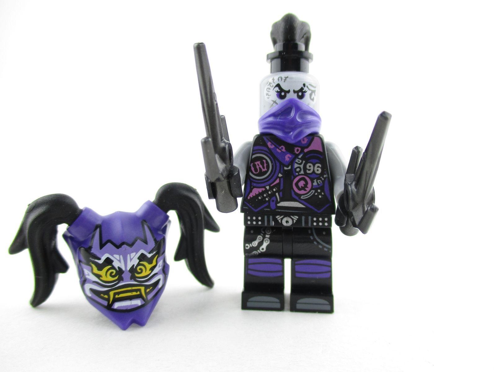 $8.99 - Lego Ninjago Ultra Violet Minifigure + Oni Mask Of ...