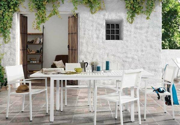 Diferentes tipos de mesas para exteriores Aluminio, Mesas para