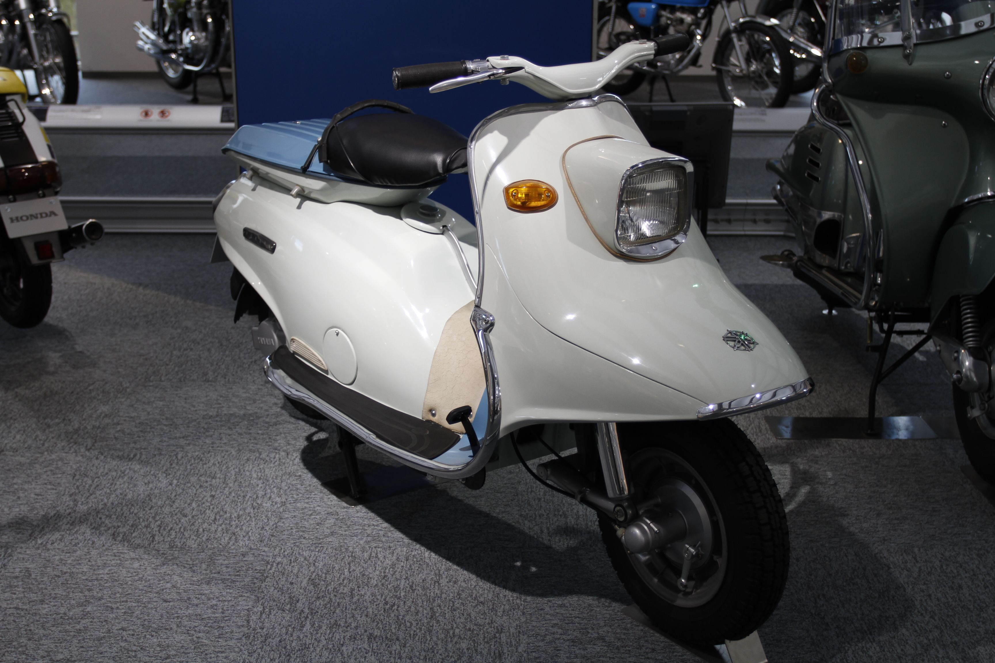 1960 Yamaha Scooter Sc 1 Japan Yamahas First Scooter Produced
