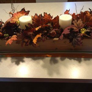 Rustic table centerpiece. Various sizes and stains available. Rustic wedding, Farm house flower box, seasonal decoration, cottage chic #woodenflowerboxes