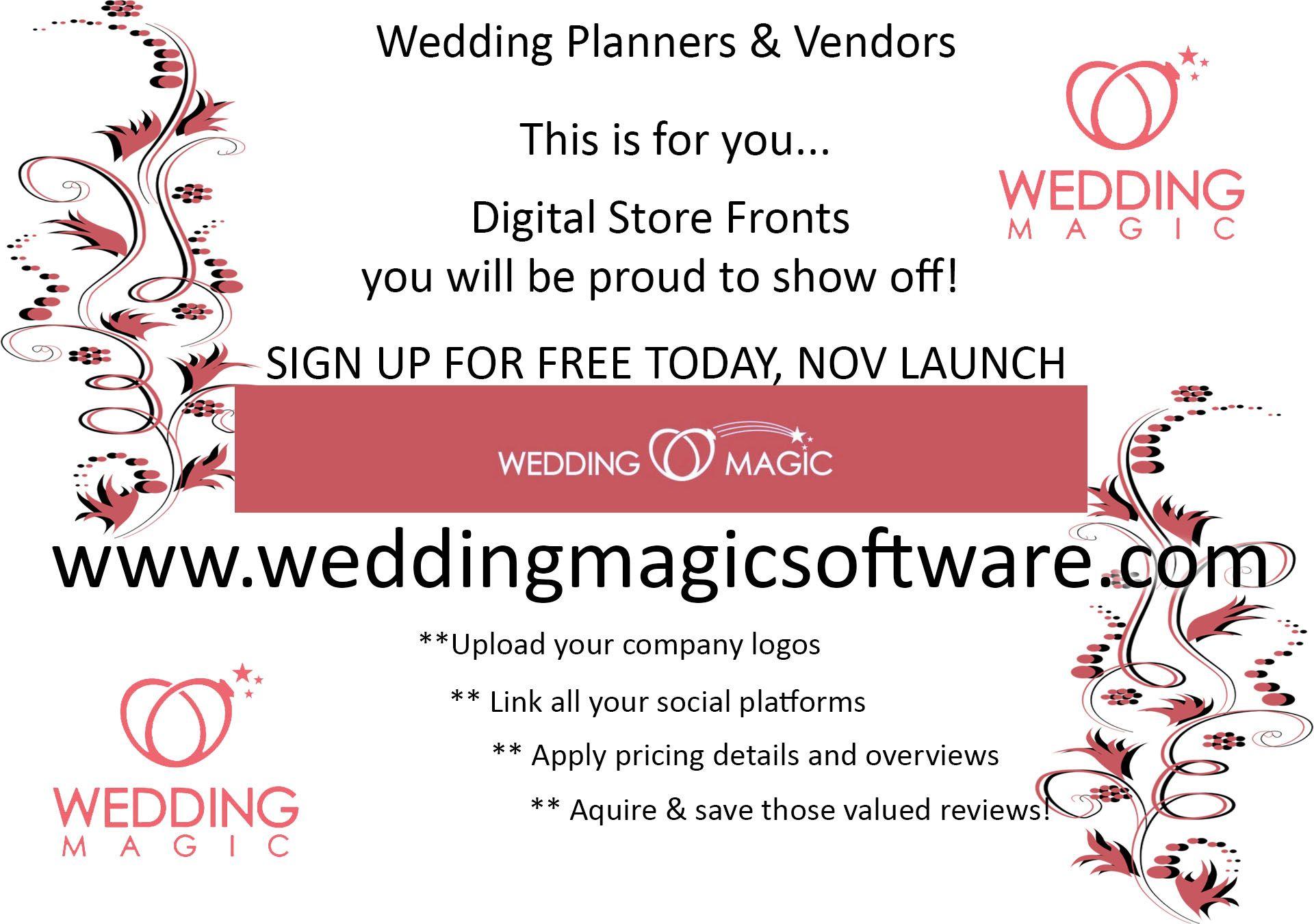 Wedding Planner, Event Vendors, Bride, Bridal, Wedding Party, Groom ...