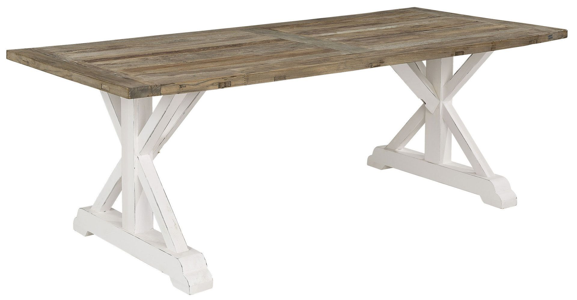 Artwood Elmwood Wd Diningtable Solid Elm 220x100 Esszimmer