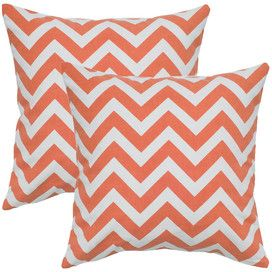 Chevron and bright colors always makes me think of @Amy Silva!!  So bright and cheery!  Pinned from the Rizzy Home - Eye-Catching Pillows With Global Appeal event at Joss and Main!