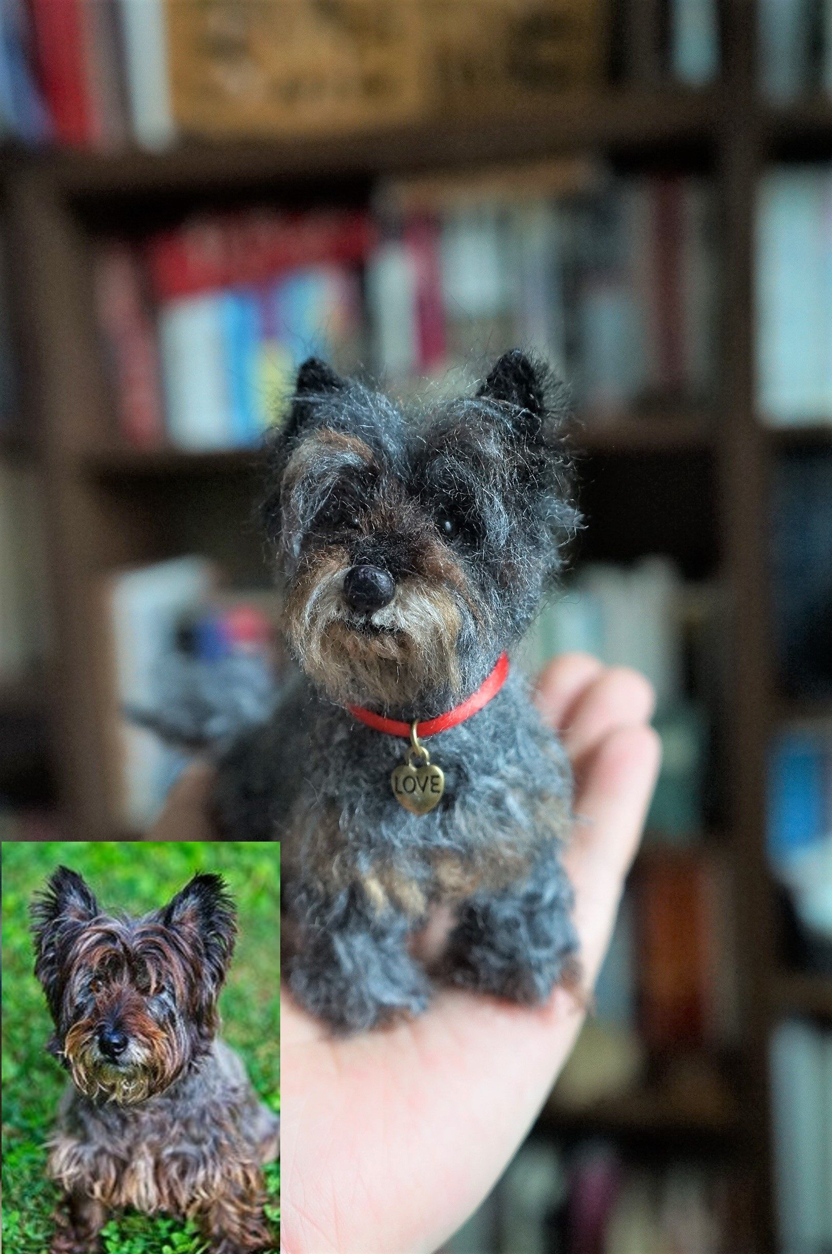 This Is Mini Scout A Cairn And Wheaton Terrier Mix I Felted