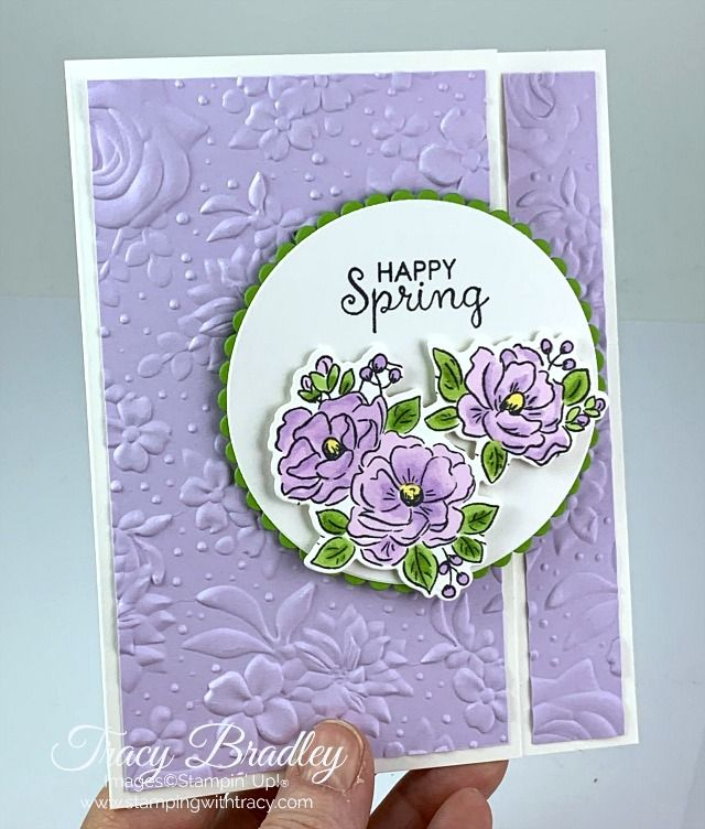 Stampin' Up! Birthday Dies - Stamping With Tracy
