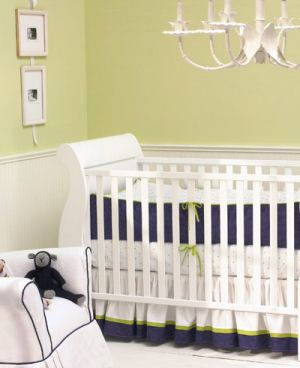 Navy Baby Bedding For The Nursery Room