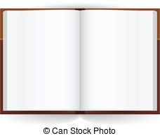 Open Book Cool Open Book With White Pages Illustration On Clip Art Free Illustrations Vector Drawing