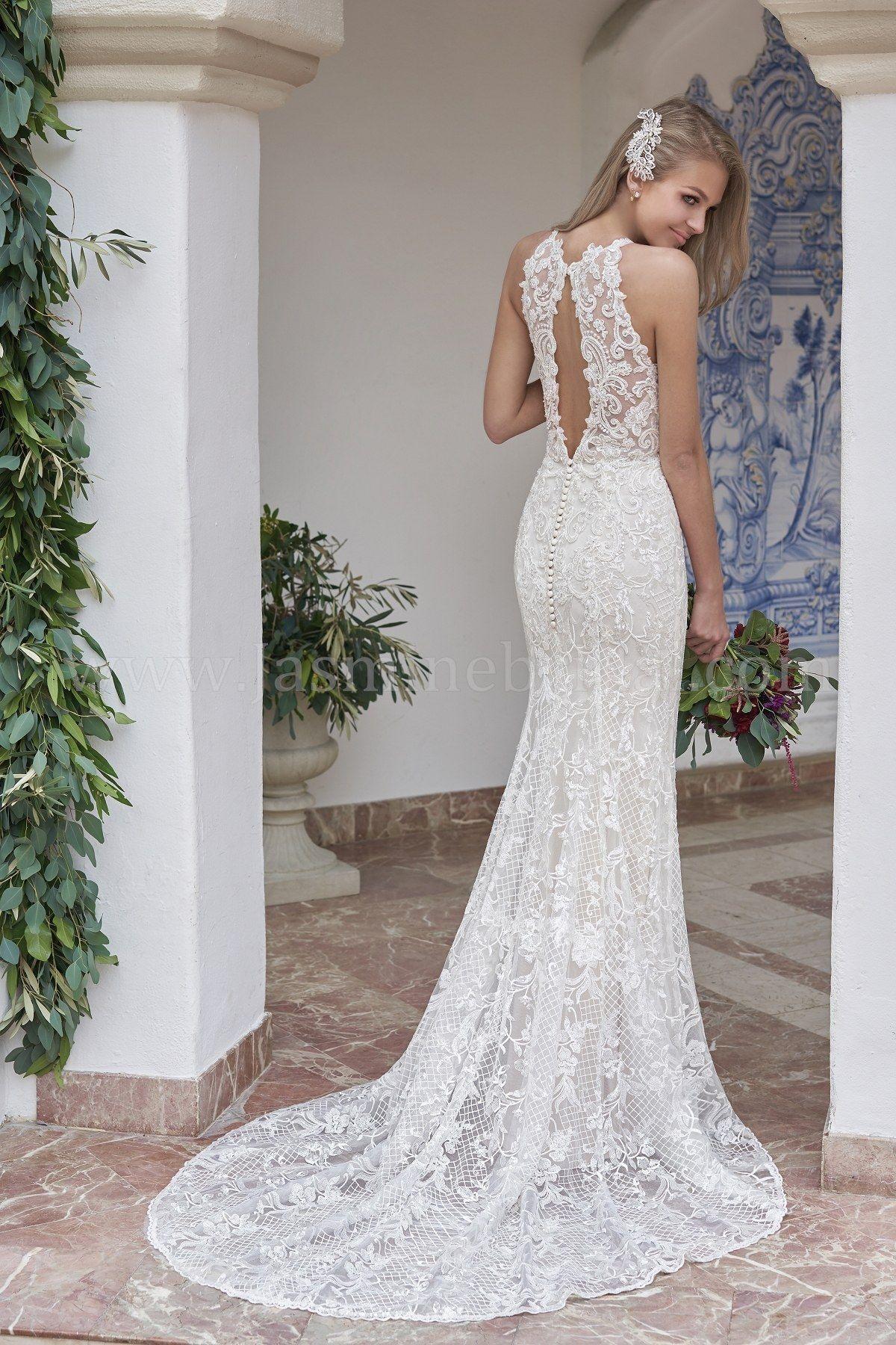 Jasmine Bridal Wedding Dress Beautiful Wedding Dress Pretty Wedding Dresses Lace Wedding Dress Wedding Dresses Wedding Dresses Lace Outdoor Wedding Dress