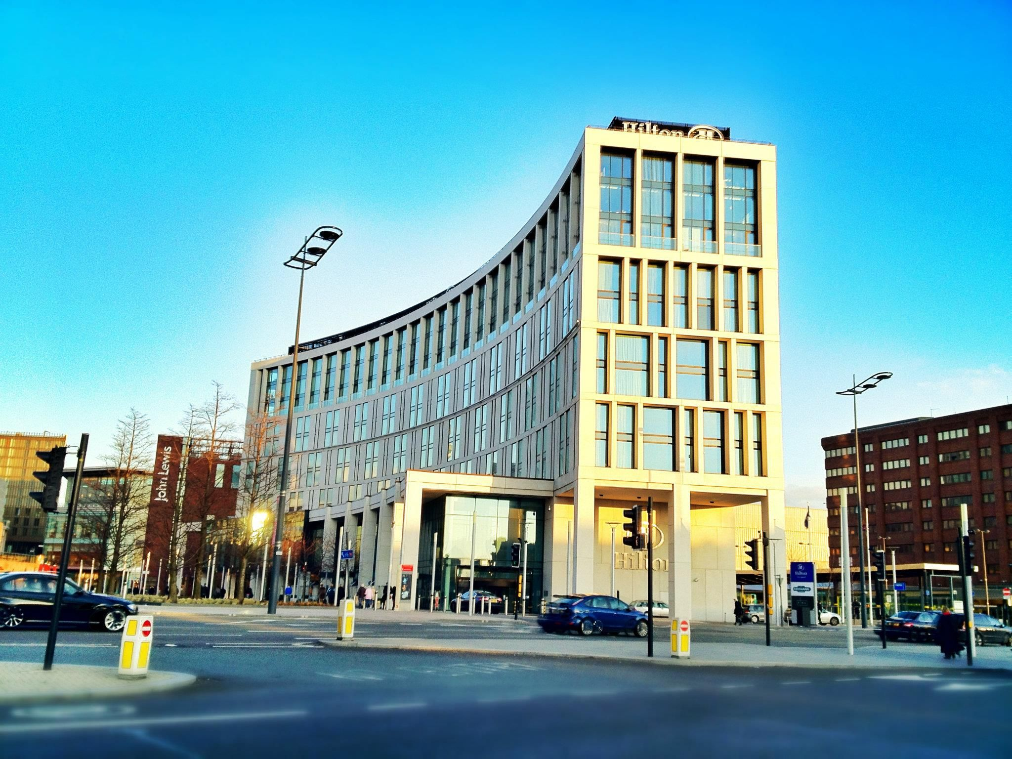 Liverpool The Hilton Hotel By Danny Gauden
