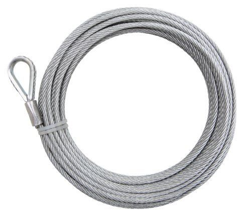 Crown Bolt 13140 1 4 Inch Wire Rope Galvanized By Crown Bolt 36 98 From The Manufacturer The Iron Man 1 4 Inch X 100 Feet Galvanize