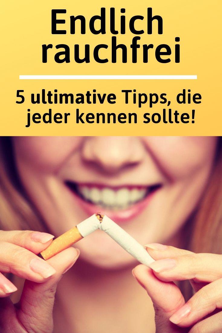 8 natürliche Heilmittel und Tipps um mit dem Rauchen aufzuhören