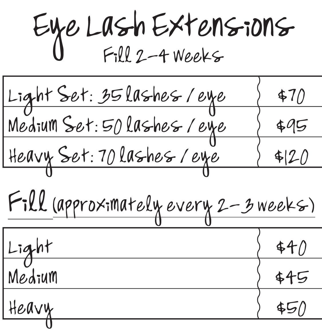 different length lash extensions - Google Search | All MADE Up ...