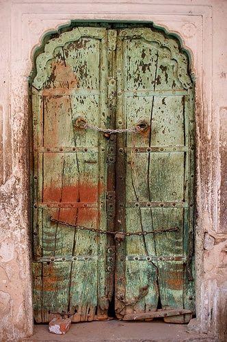 Doorway in India. Please like http://www.facebook.com/RagDollMagazine and follow @RagDollMagBlog @priscillacita