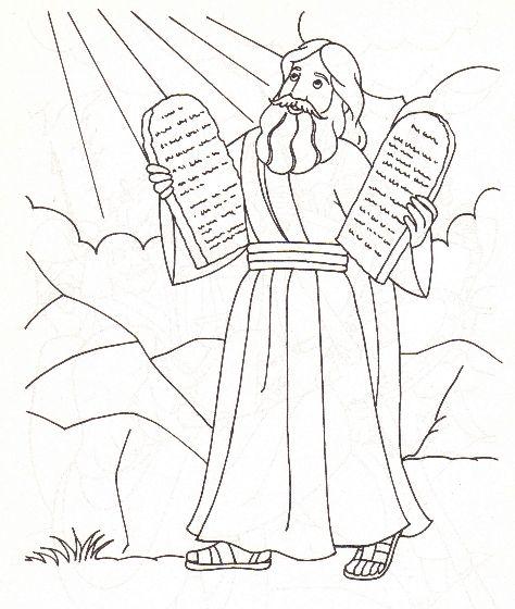 43 Moses and the 10 commandments | Moses - Ten Commandments ...