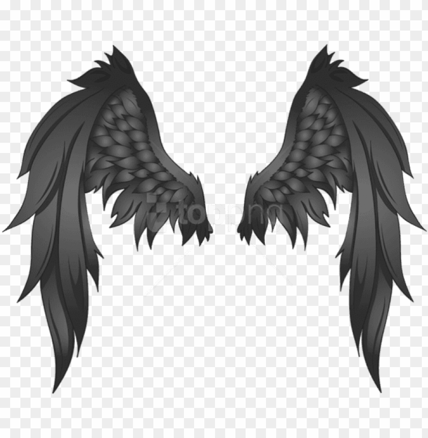 Free Png Download Black Wings Clipart Png Photo Png Black Angel Wings Transparent Behind Png Image With Transparent Background Png Free Png Images Black Angel Wings Black Wings Angel Wings Png