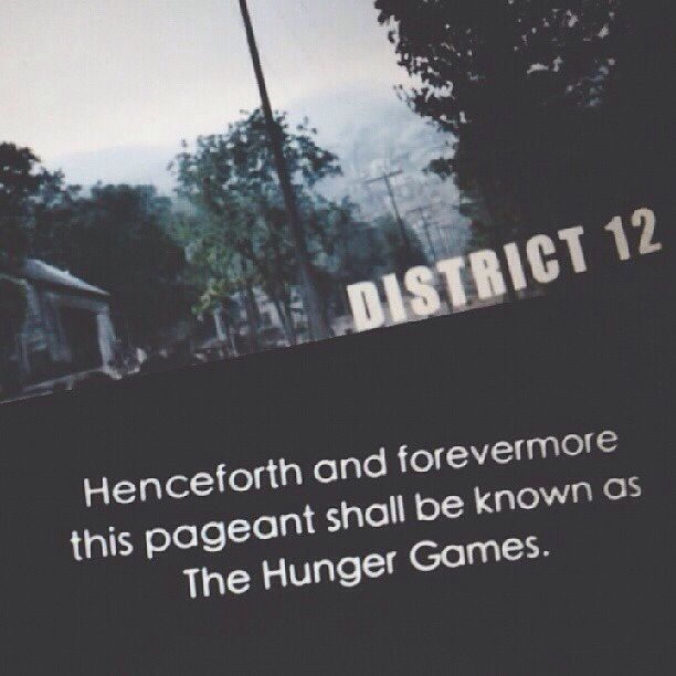 Hunger Games / District 12