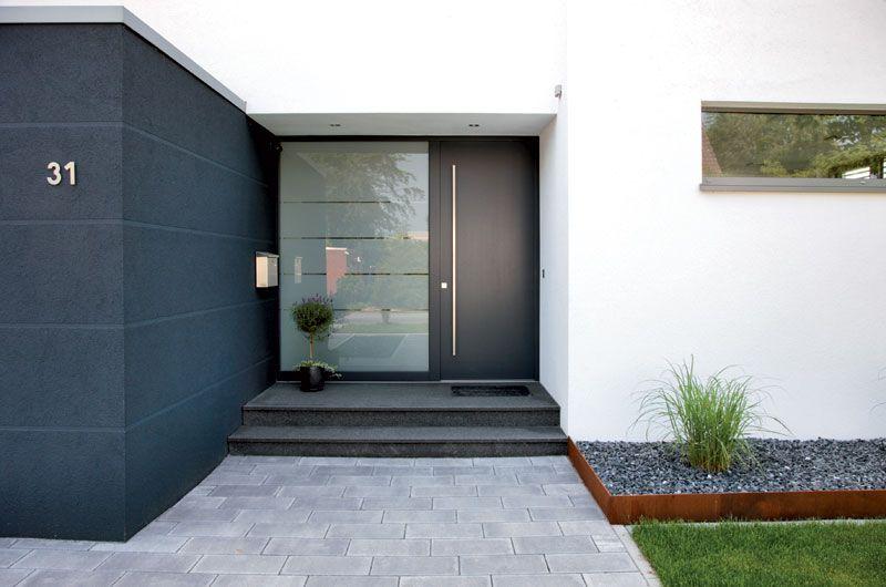 eingang drau en pinterest haust r eingang und haus. Black Bedroom Furniture Sets. Home Design Ideas