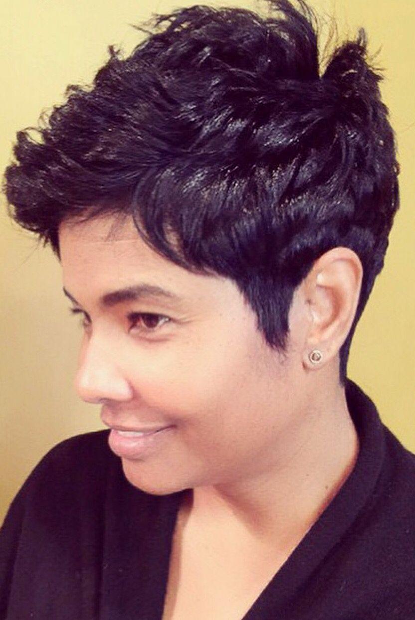 Najah Like The River Angela Burton Short Hair Don T Care