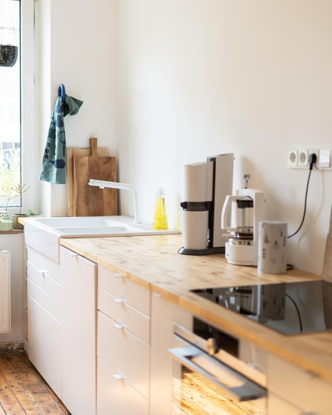 unsere geliebte Küche daheim. Nach einer ca. 3qm Küche in der ...
