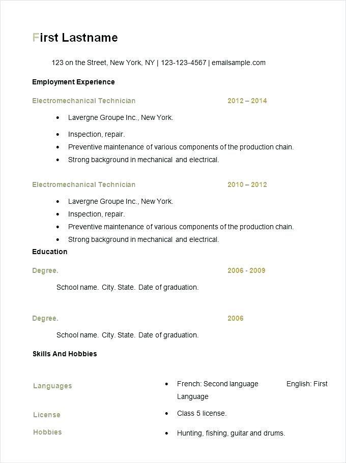 Resume Format Checker Pinterest Resume format