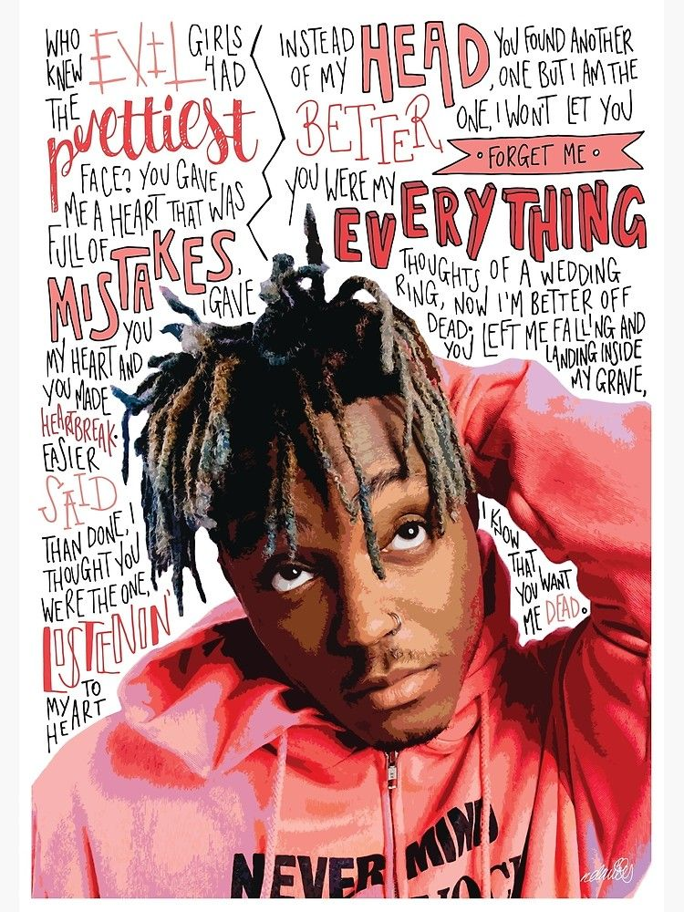 Juice Wrld Photographic Print By Naomillustrates Redbubble Juice Rapper Rapper Art Lucid Dreaming
