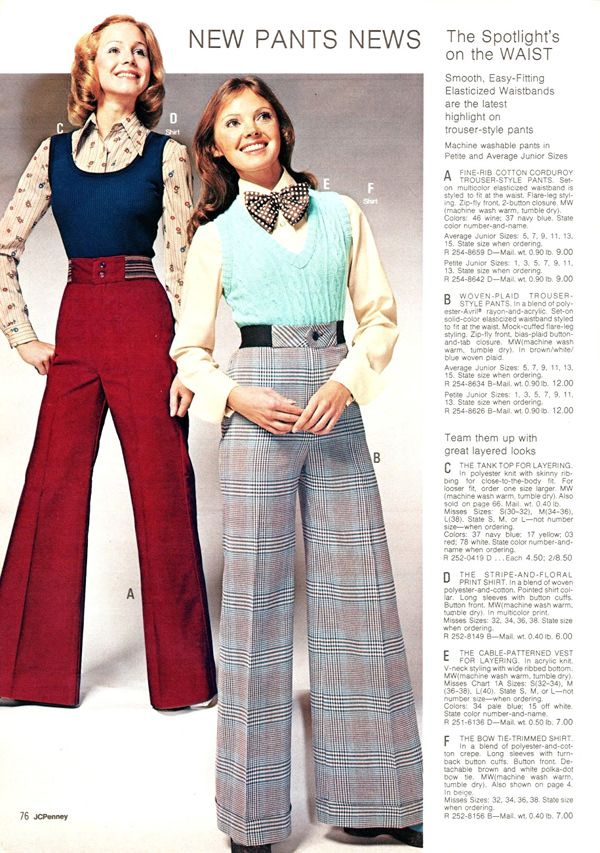 The Neverending Allure of Womenswear from 1970 to