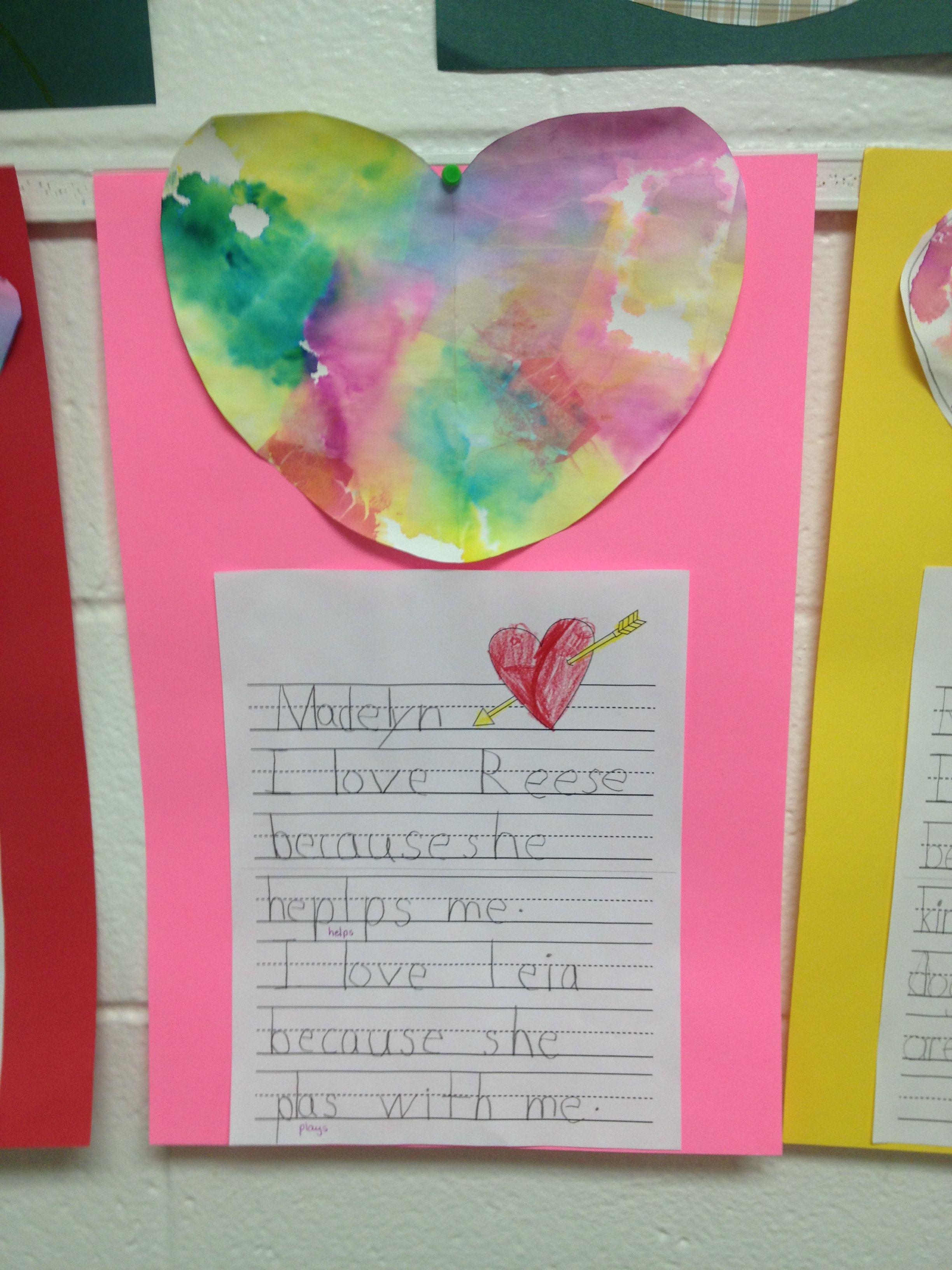 Valentine Writing Prompt