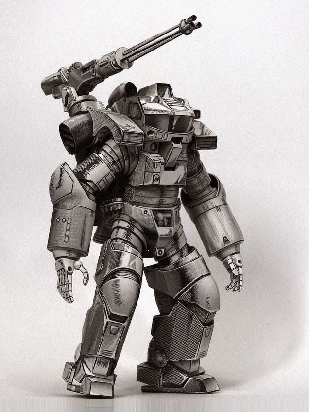 starship troopers powered armor - Google Search | Starship ...