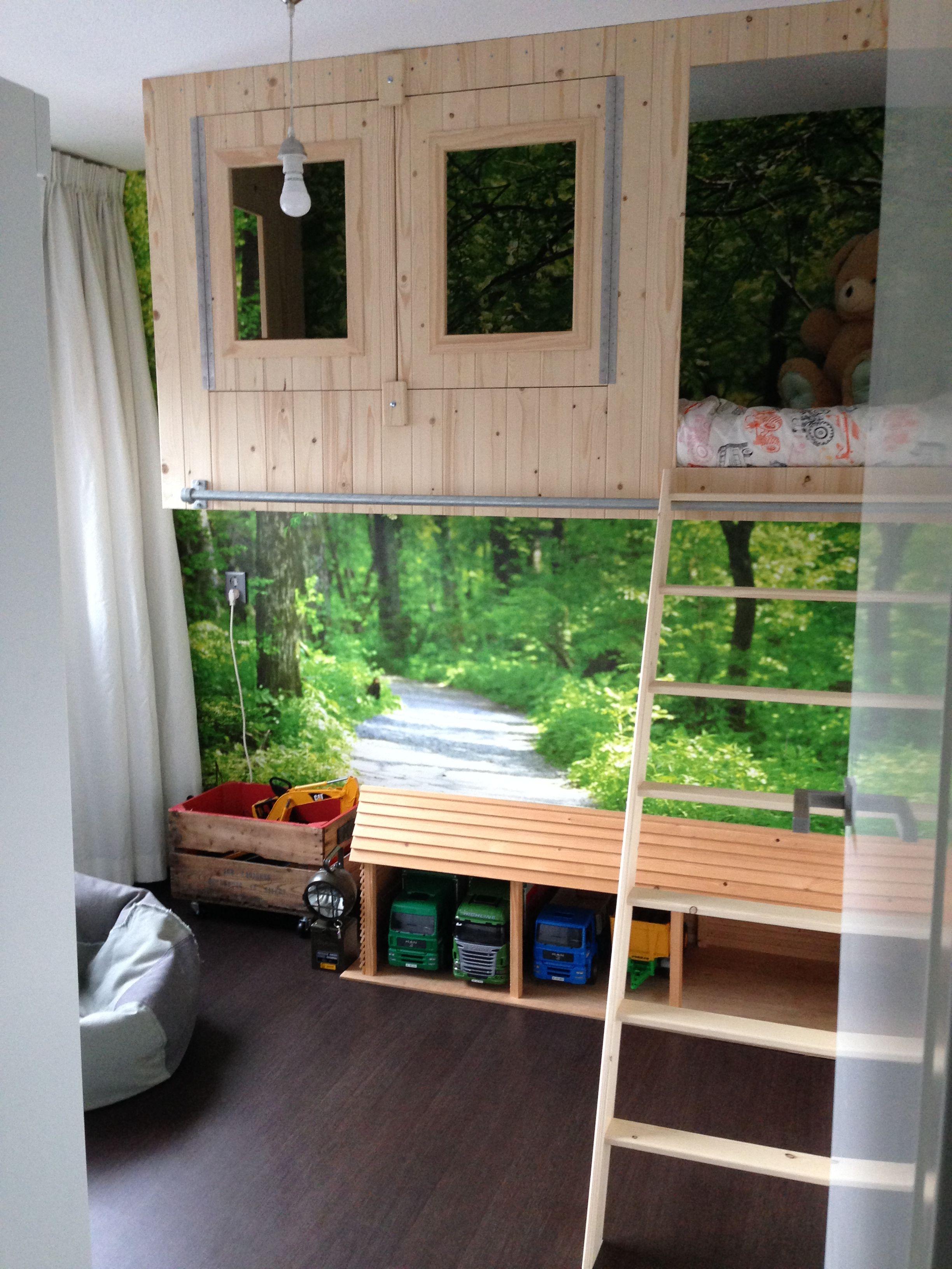 Jongens slaapkamer boomhut | Inrichting | Pinterest - Boomhut ...