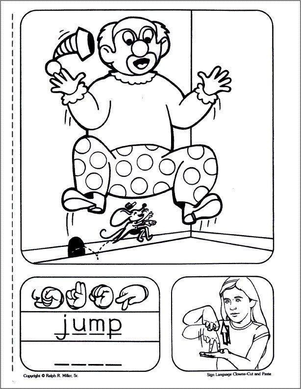 Sign Language Children's Series: Sign Language Clowns #
