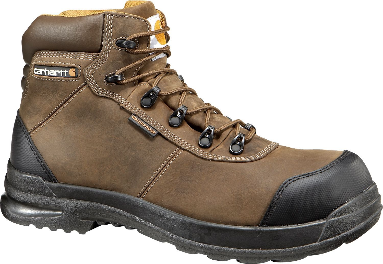 Carhartt Men S 6 Stomp Light Bal Waterproof Composite Toe Work Boots Work Boots Men Boots Composite Toe Work Boots