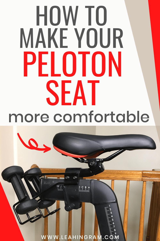 How To Make The Peloton Seat More Comfortable In 2020 Peloton Bike Peloton Bike Seat