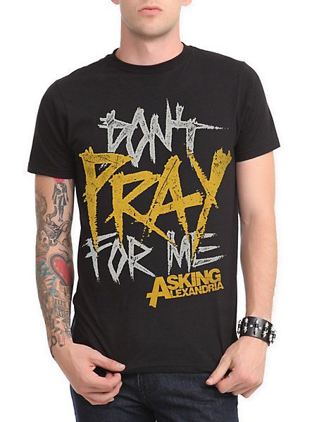 Asking Alexandria Don't Pray T-Shirt | Hot Topic