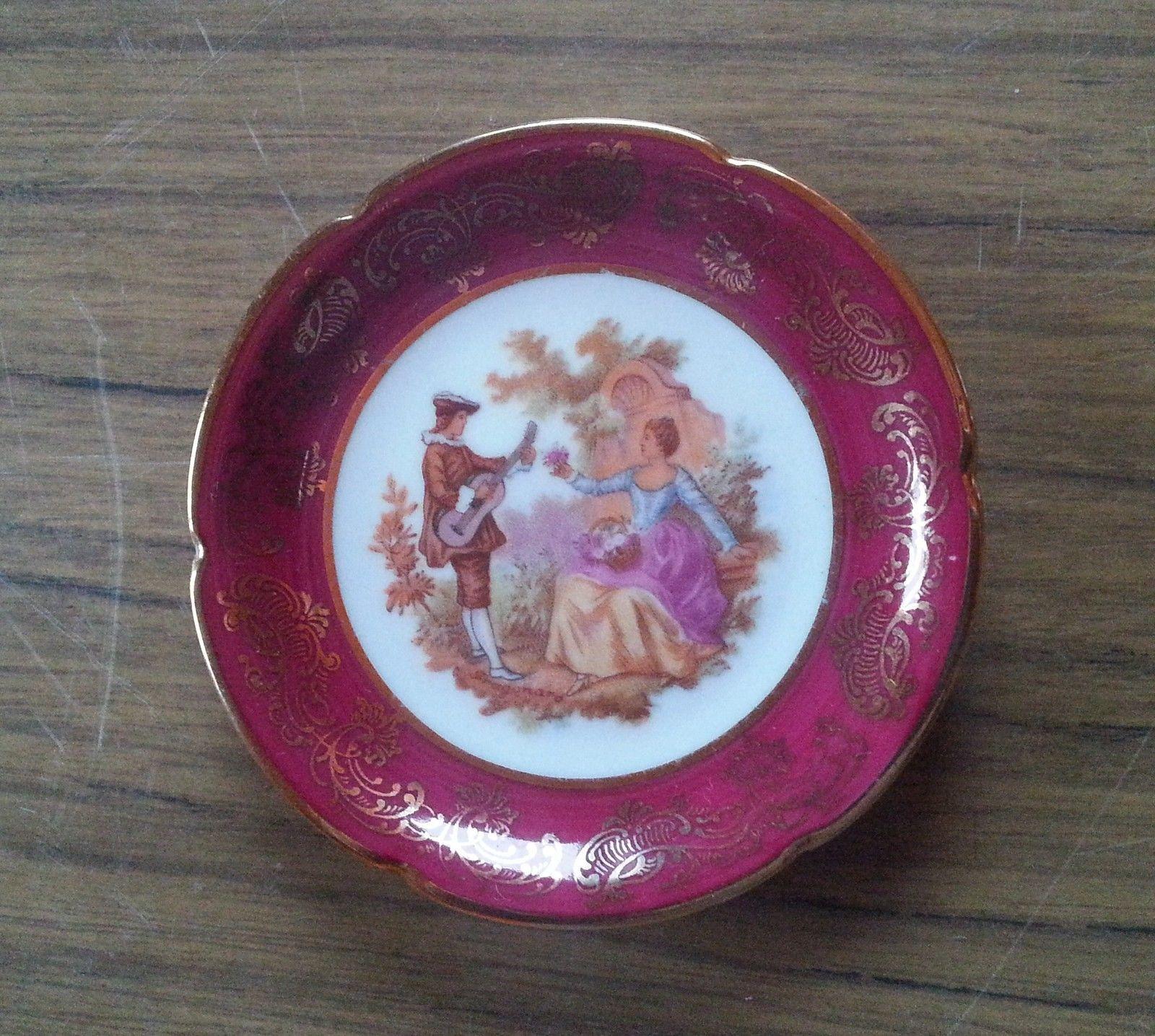Limoges Porcelain Dish Fragonard Lovers Scene New Price Porcelain Dish Porcelain Fine Porcelain
