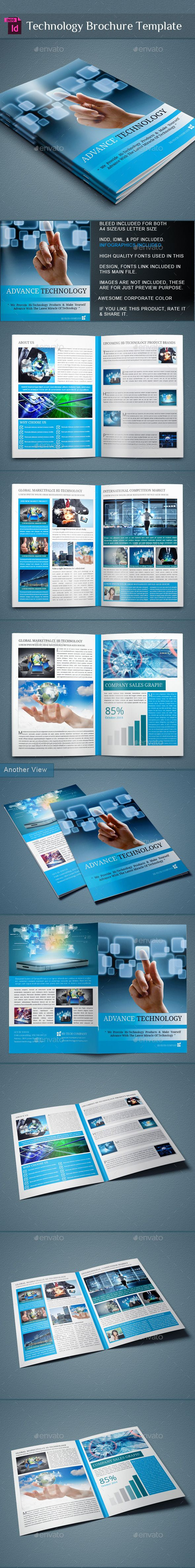 Technology Brochure Catalog | Brochures, Catalog And Template