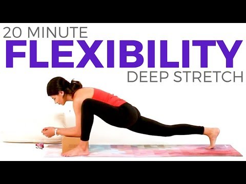 yoga for flexibility 20 minute yoga deep stretch hip