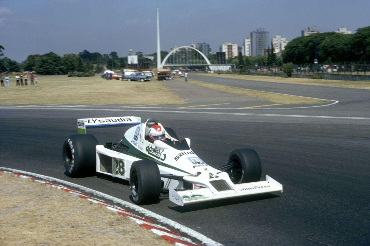 Clay Regazzoni, Williams-Ford FW06, 1979 Argentine GP, Buenos Aires ...