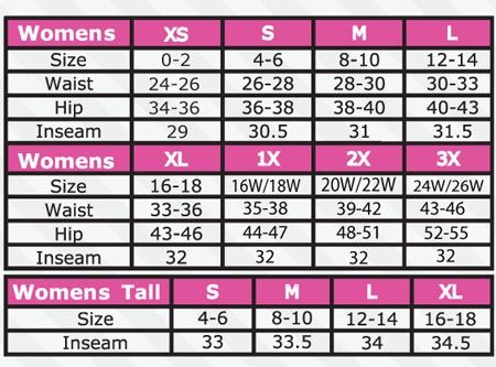 Pant sizes chart for women google search also ft pinterest rh
