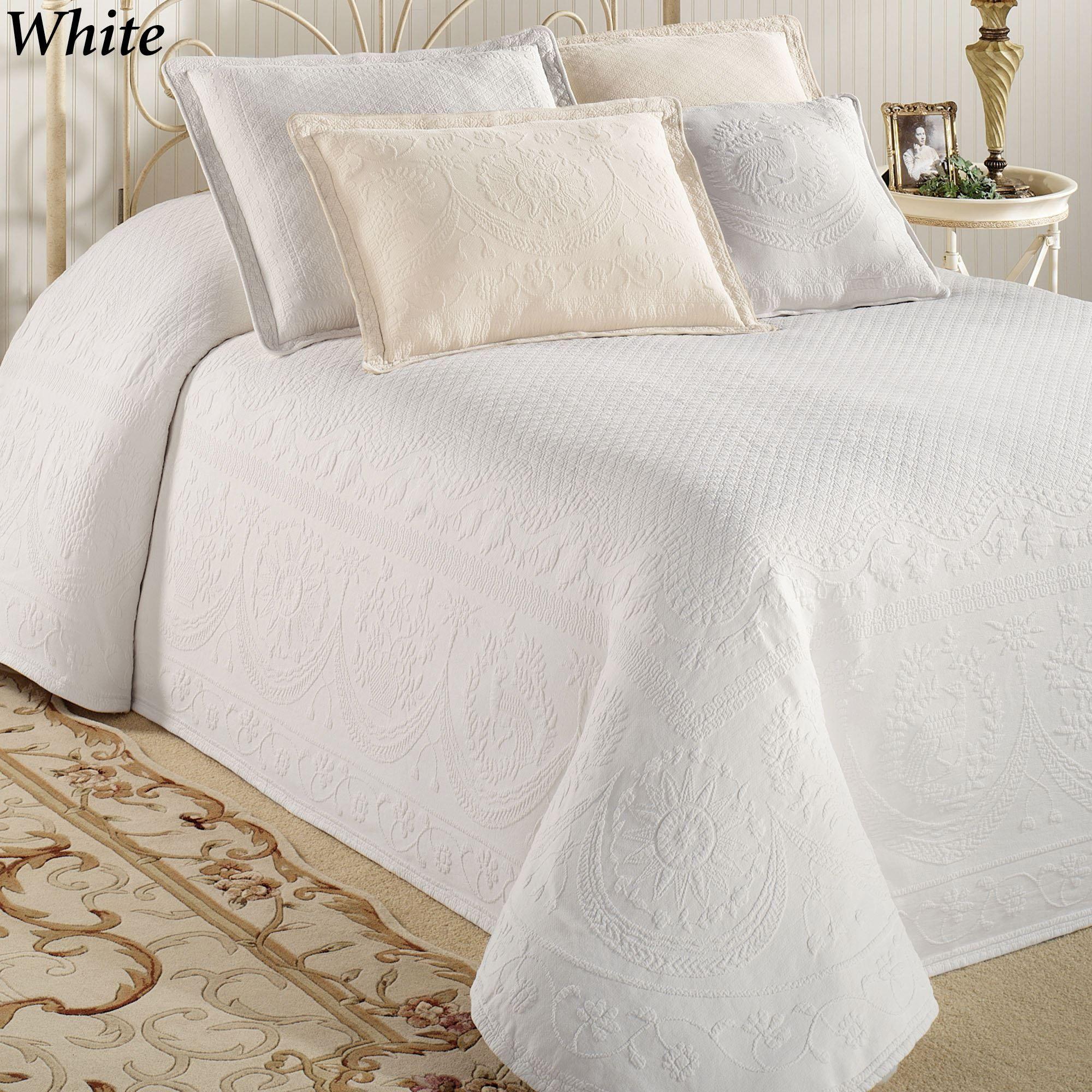 Captivating King Charles Matelasse Bedspread Bedding