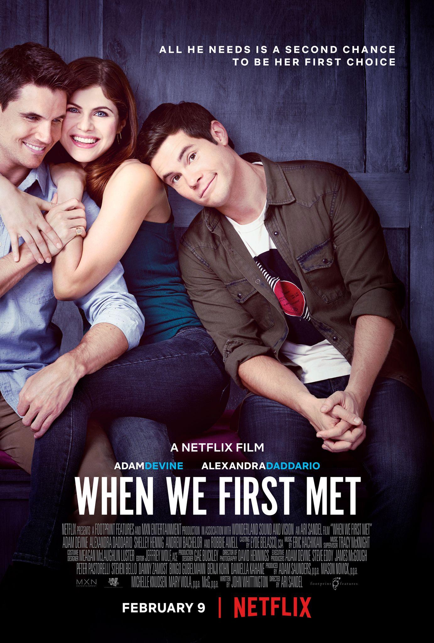 movie when we first met online