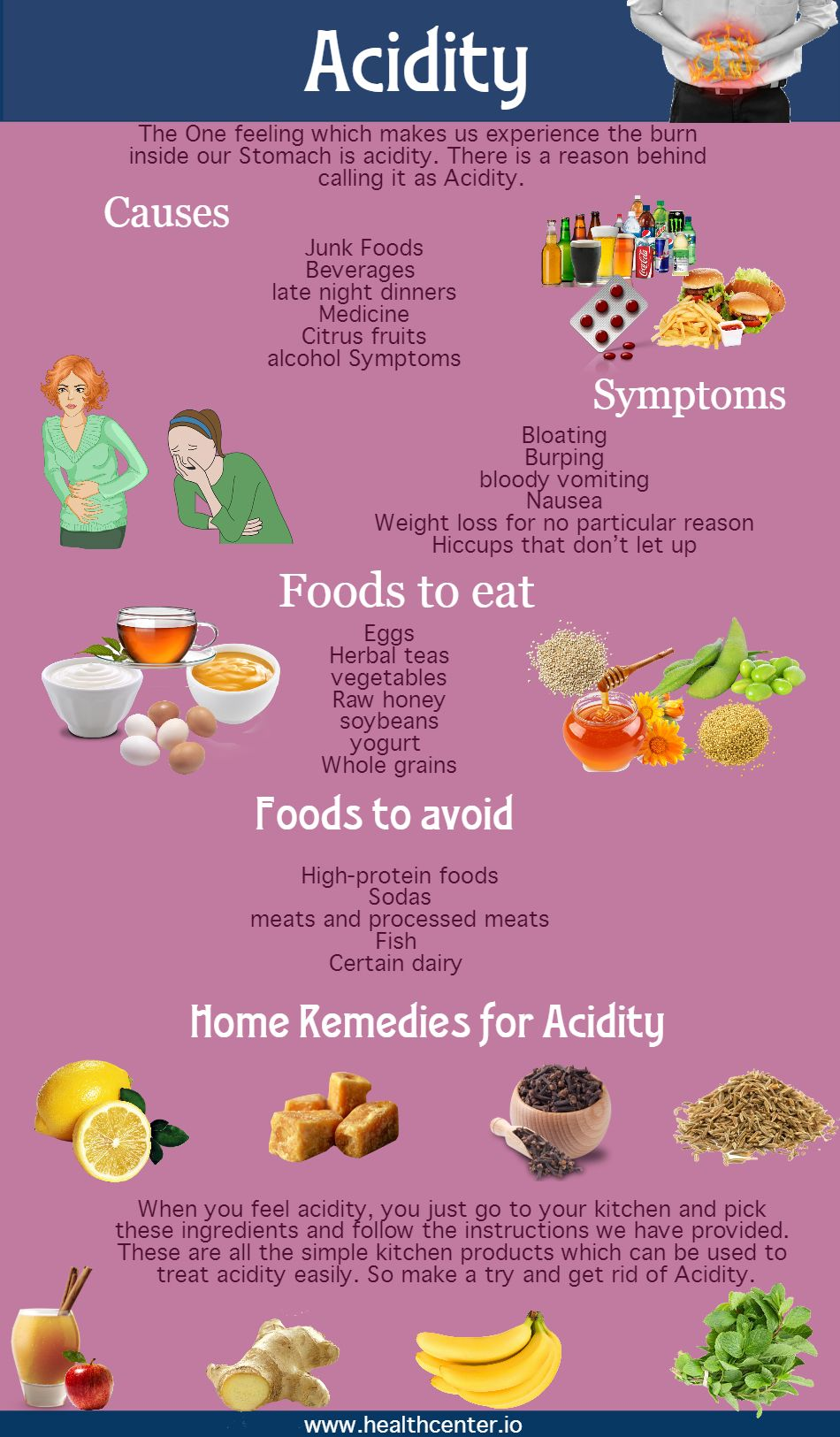 Get details on Proven Acidity Remedies, causes of Acidity. Home ...