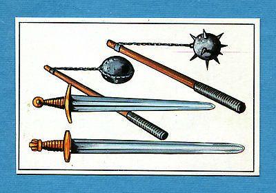 ARMI E SOLDATI - Edis 71 - Figurina-Sticker n. 115 - SPADA E MAZZA FERRATA -Rec
