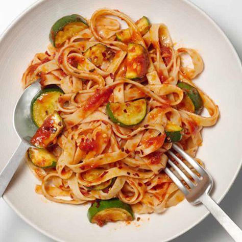 pates courgettes sauce tomate cookeo – un délice pour votre dîner.