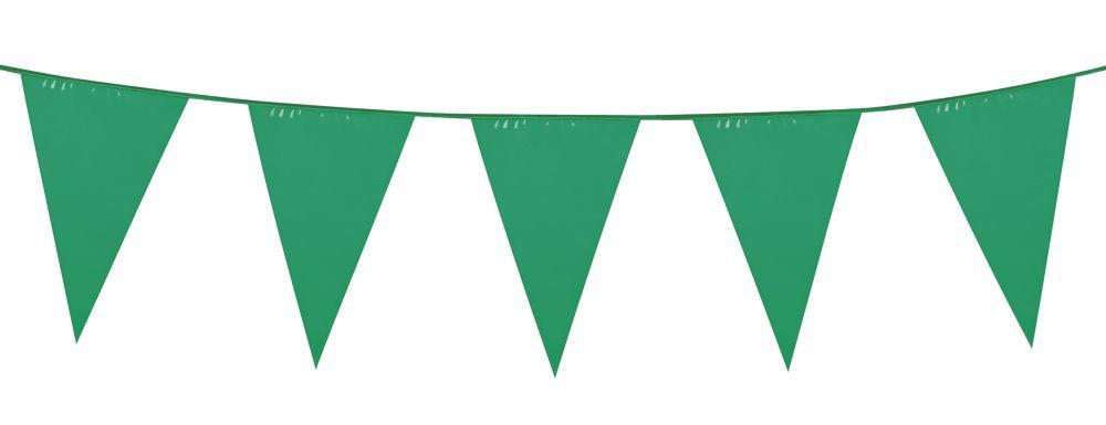 Einfarbige Wimpelkette, grün, 6 m lang Gartenparty Deko Pinterest - Deko Gartenparty Grun