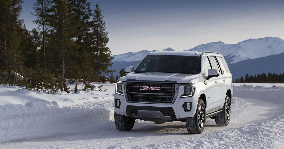 2021 Gmc Yukon Vs Chevy Tahoe Suburban Ford Expedition And More Is Biggest Still The Best In 2020 Gmc Yukon Gmc Gmc Yukon Denali