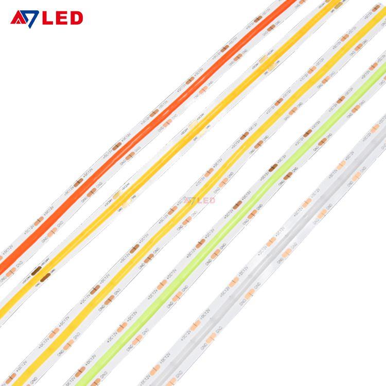 New Arrival 10mm Pcb Width 528 Chips 24 Volt Cob Led Strip Led In 2020 Led Strip Lighting Strip Lighting Flexible Led Strip Lights