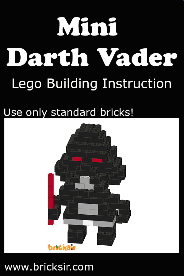 Love Star Wars Build Mini Darth Vader Lego Using Our Lego Building